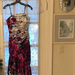 Beautiful silk long dress .....